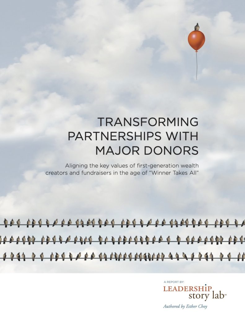 Transforming Partnerships with Major Donors Cover