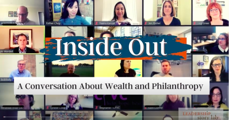 """Our """"Inside Out"""" webinar was an honest conversation about wealth and philanthropy"""